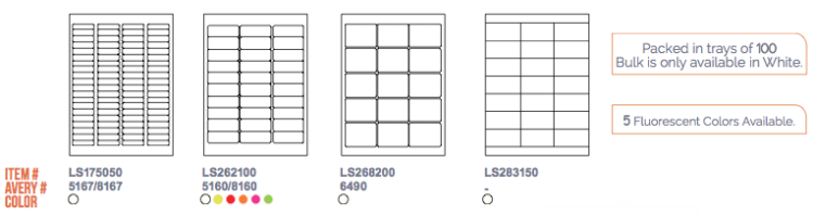 Laser-Stock Labels Layout3